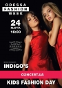 группа INDIGO'S выступит 24 марта в рамках Kids Fashion Day